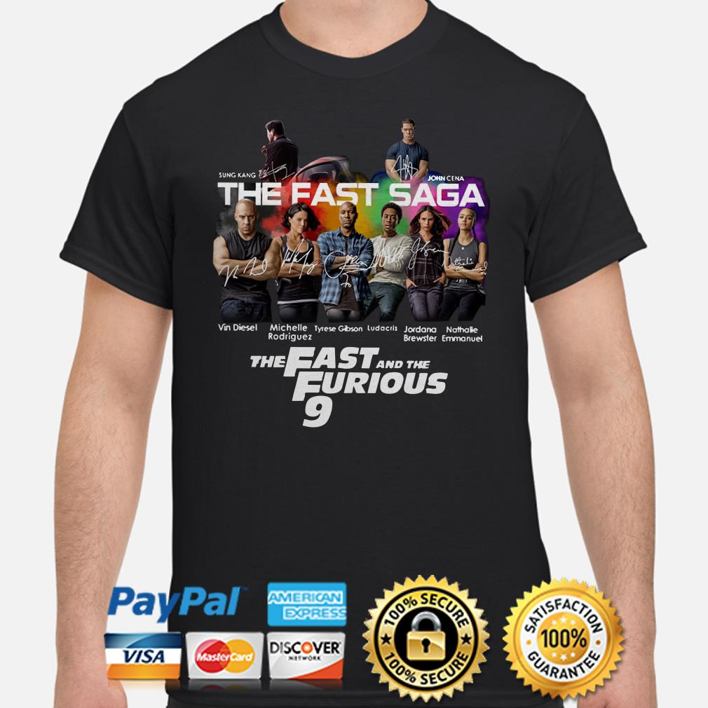 The Fast Saga The Fast and the Furious 9 shirt