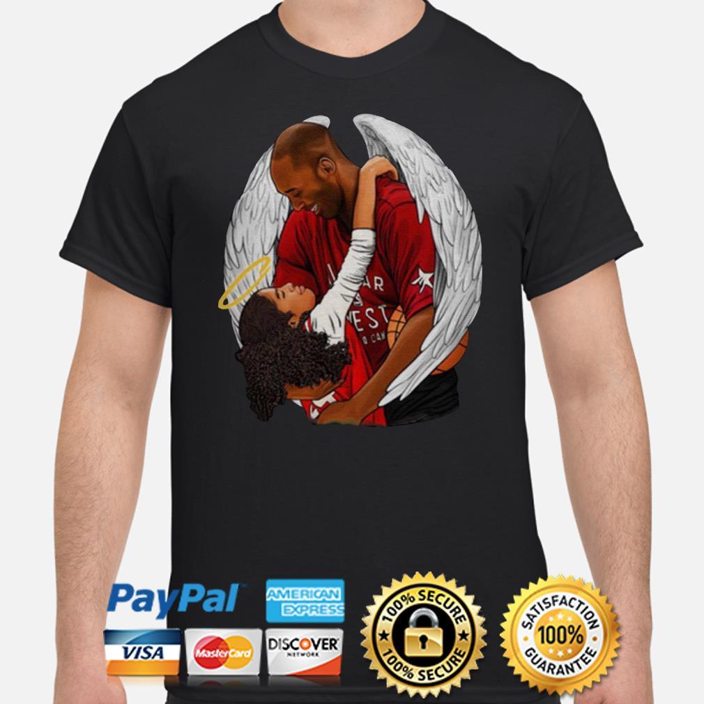 Rip Gianna Bryant and Kobe Bryant Tee Shirt