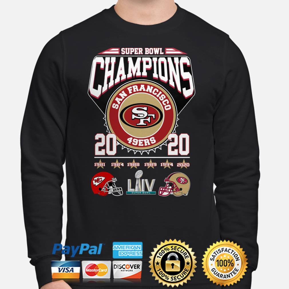 Super Bowl Champions San Francisco 49ers 2020 Sweater