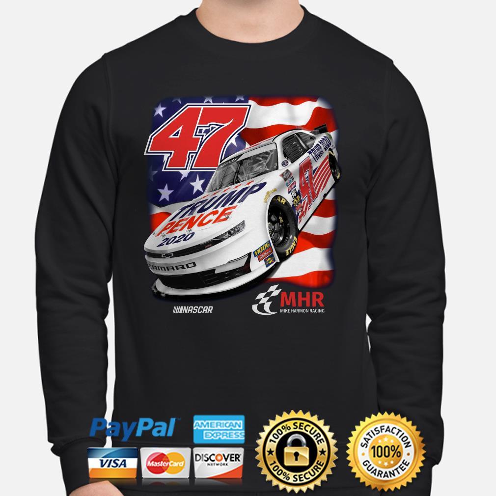 47 Trump Pence 2020 Nascar American flag Sweater