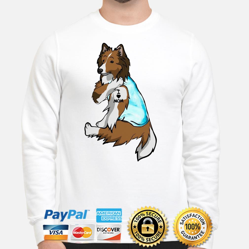 Wolfdog I Love Mom Sweater