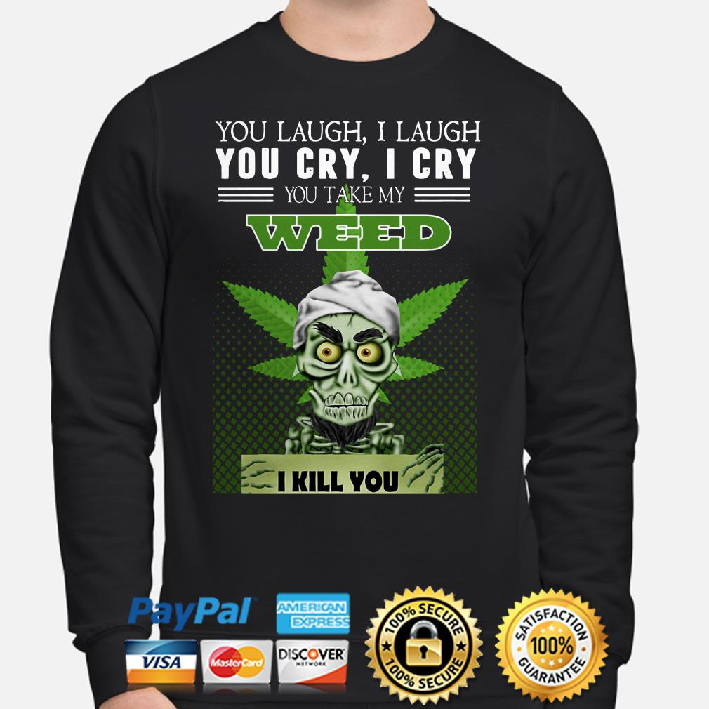 Jets Dunham You Laugh I Laugh You Cry I Cry You Take Me Weed I Kill You Sweater