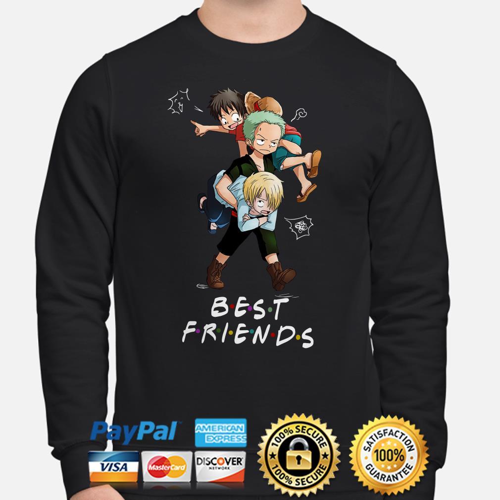 Monkey D. Luffy Roronoa Zoro Sanji Best Friends Sweater