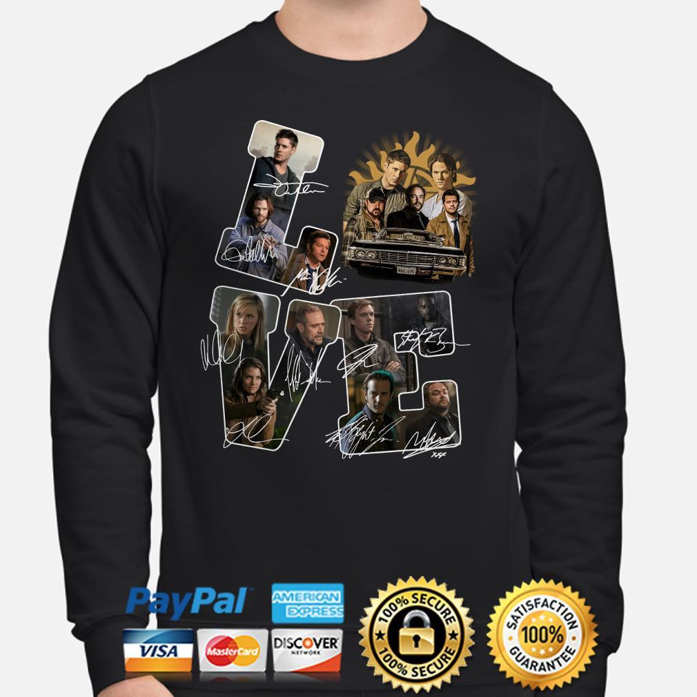 Supernatural Love Signatures Sweater