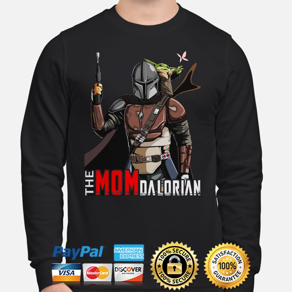Baby Yoda The Mom Dalorian Sweater