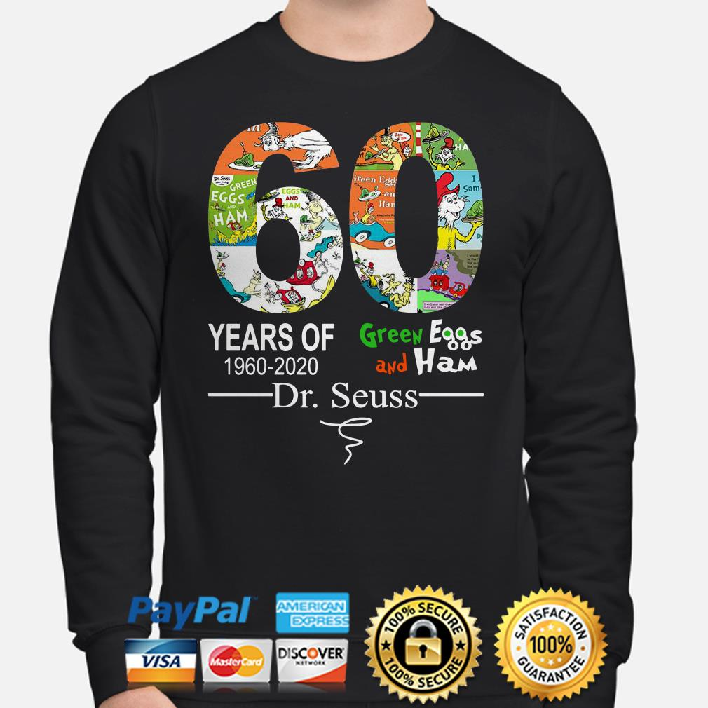 60 years of Green Eggs and Ham Dr Seuss signature Sweater