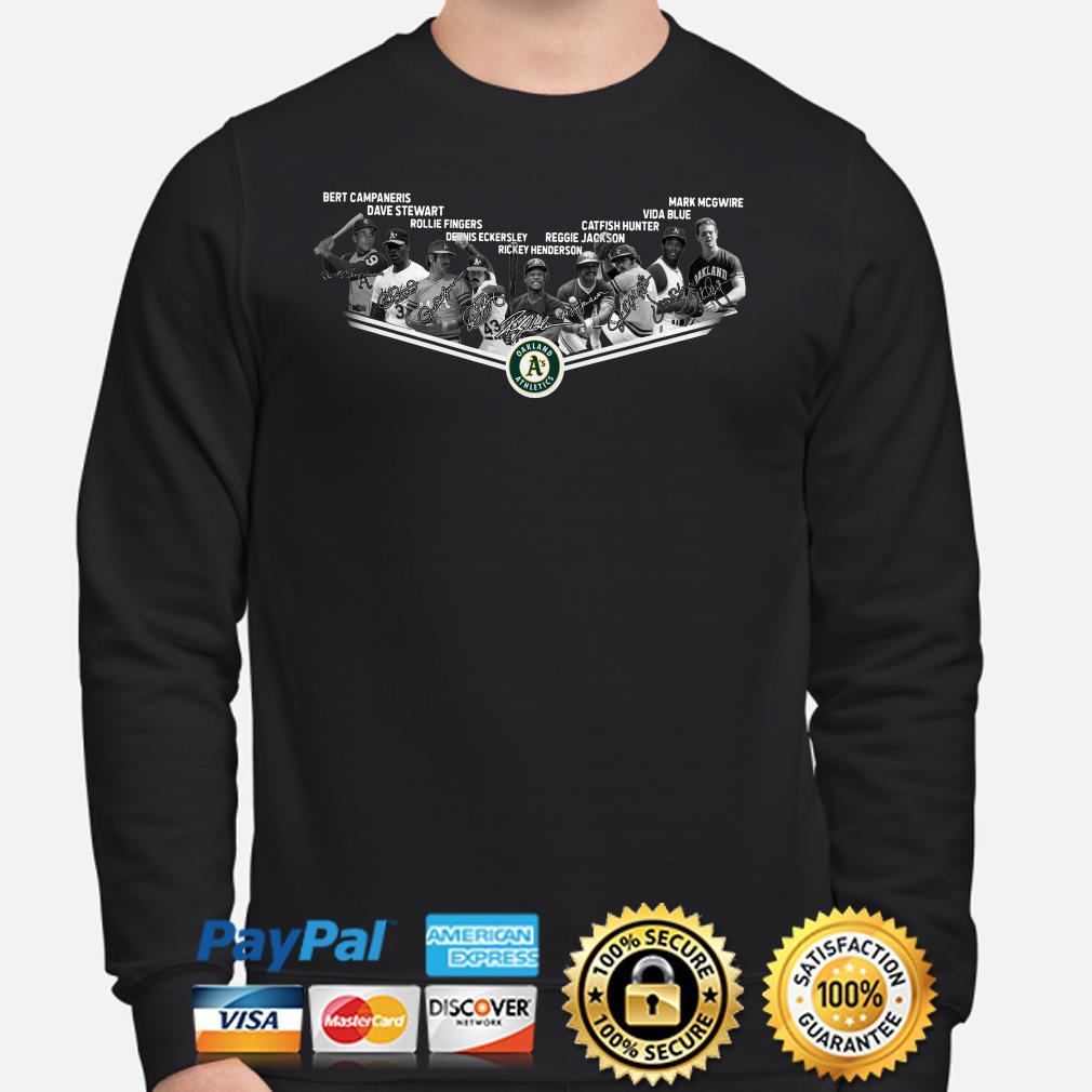 Oakland Athletics Legends signature Sweater