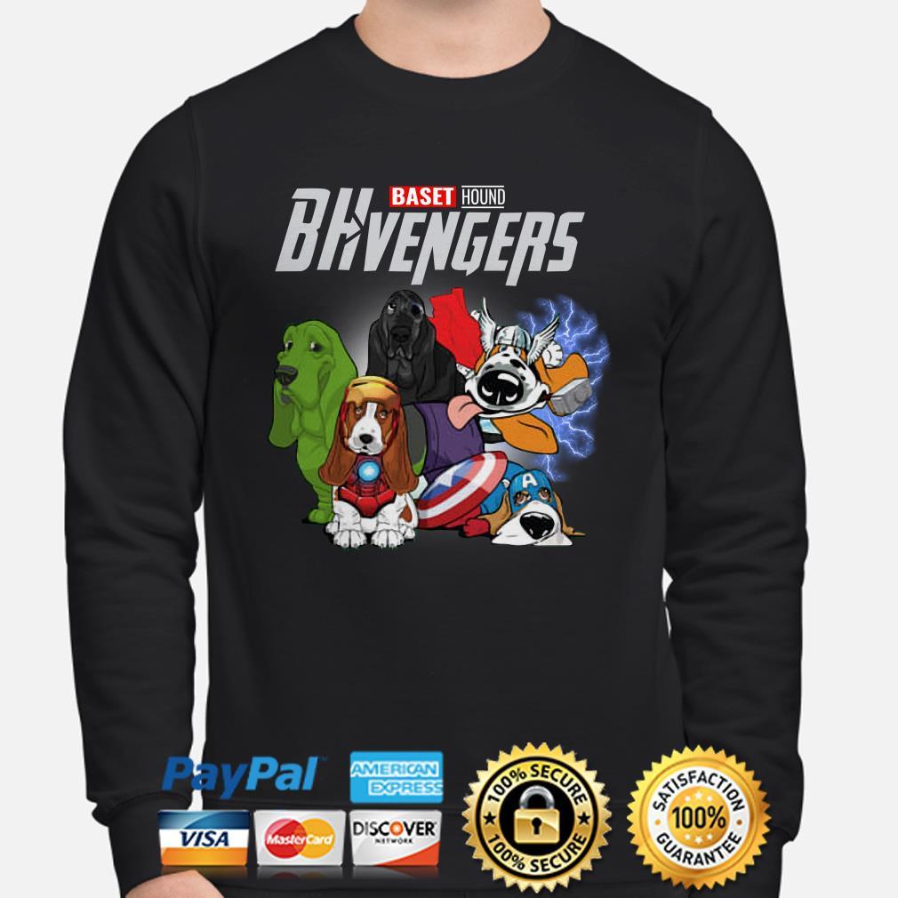 Marvel Avengers Baset Hound BHvengers Sweater