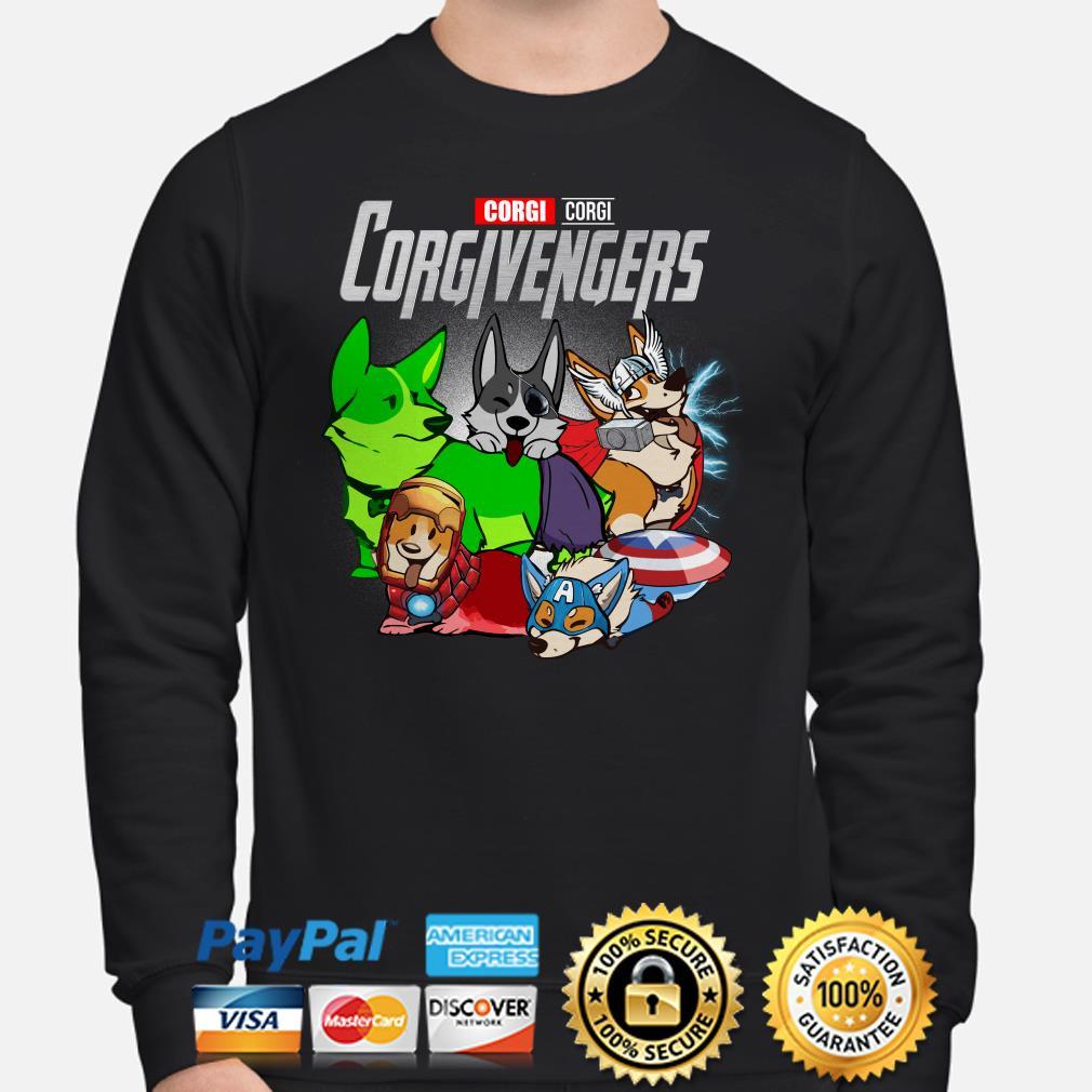 Marvel Avengers Corgivengers Sweater