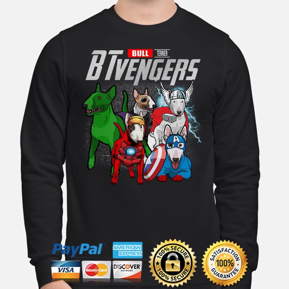 Marvel Bull Terrier BTvengers Sweater