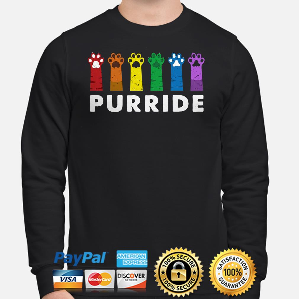 Paws LGBT Purride Sweater