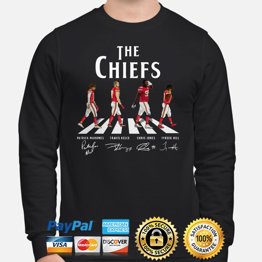 The Chiefs Abbey Road signatures Sweater