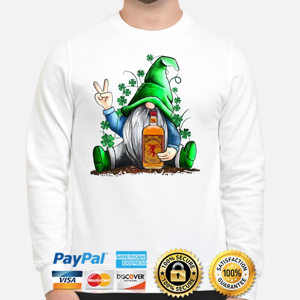 St. Patrick's Day Gnome Hugging Fireball Sweater