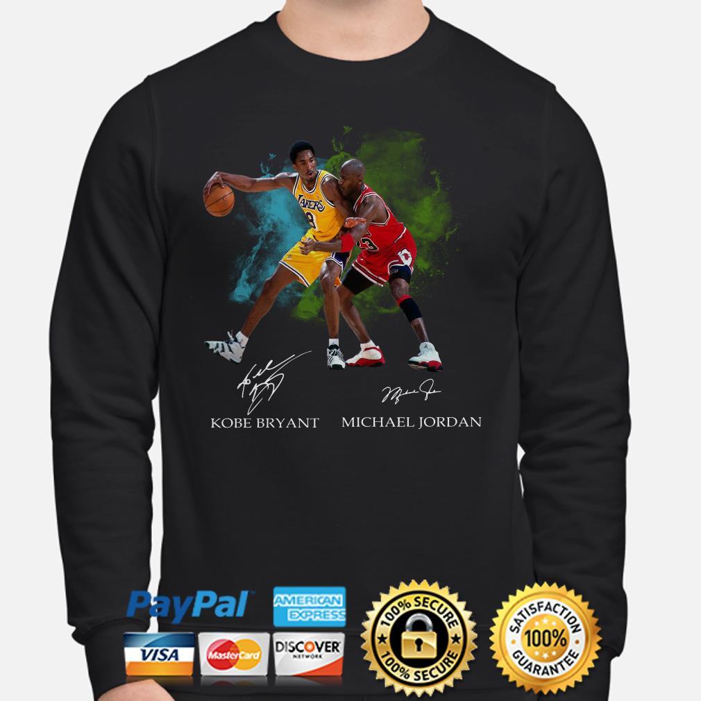Kobe Bryant and Michael Jordan signature Sweater