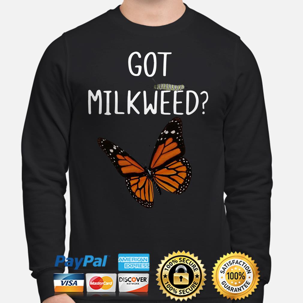 Got Milkweed butterfly bug Sweater