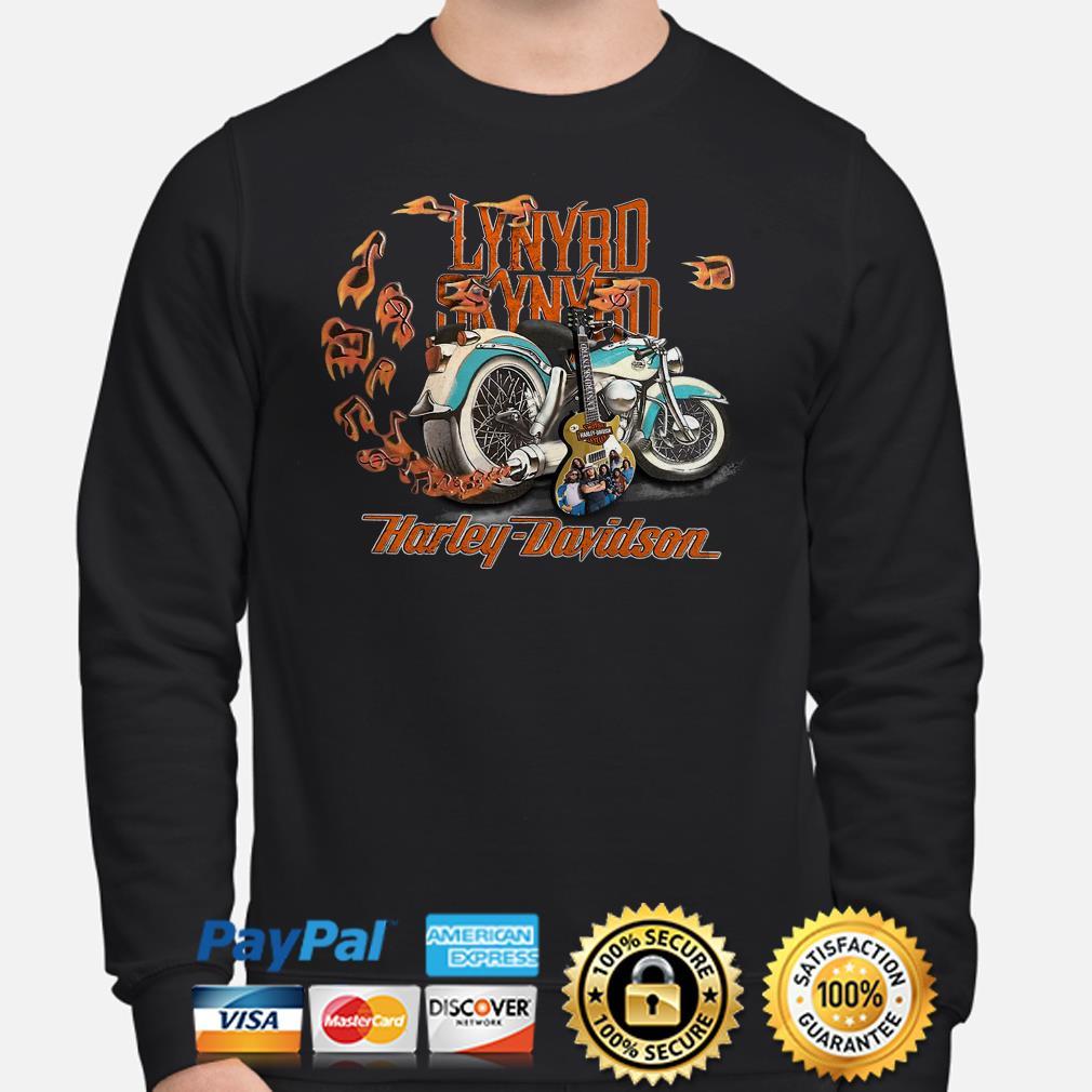 Motor guitar Lynyrd Skynyrd Harley Davidson Sweater