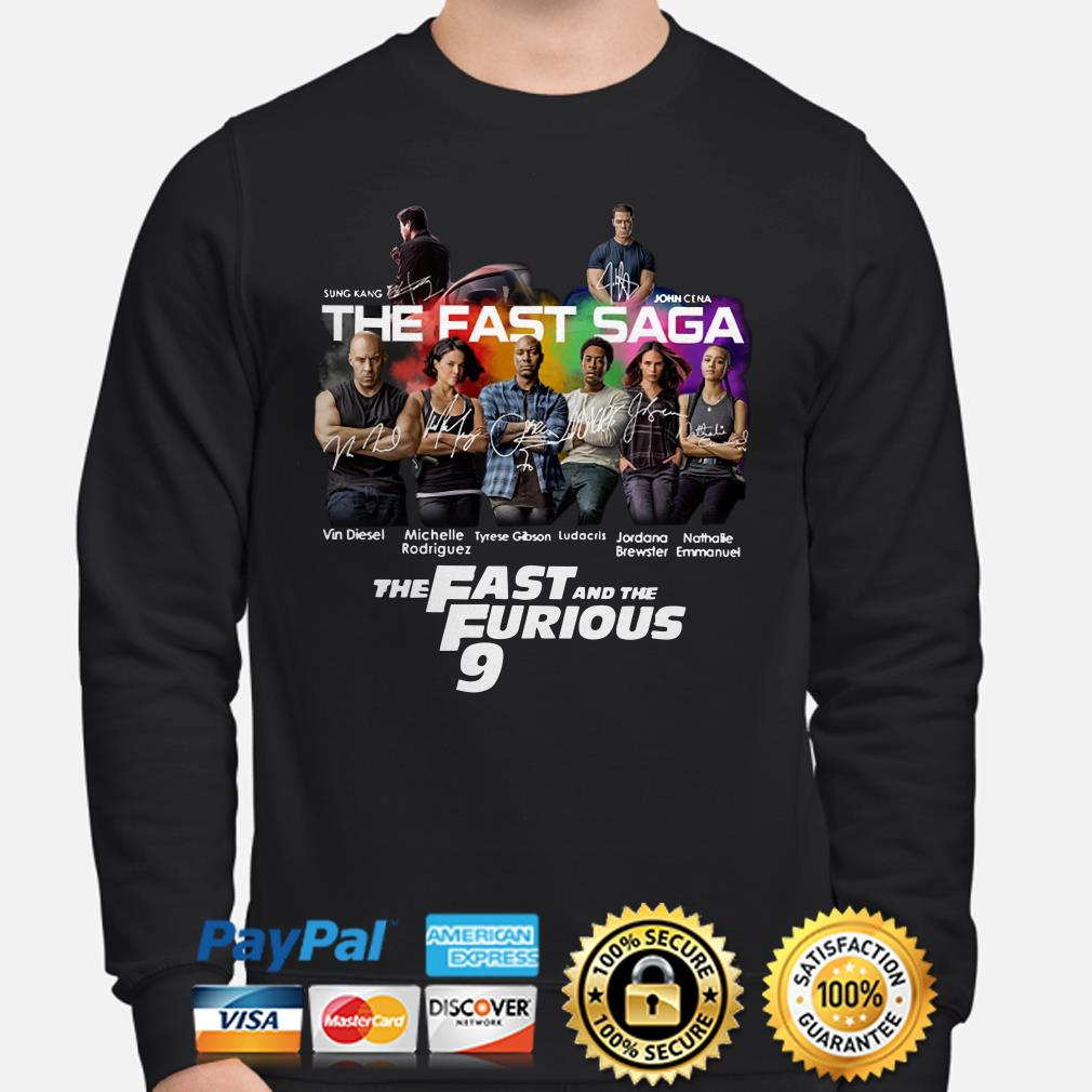 The Fast Saga The Fast and the Furious 9 Sweater