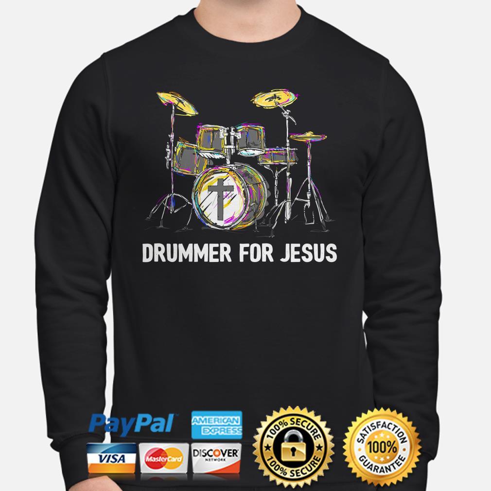 Drummer for Jesus Sweater