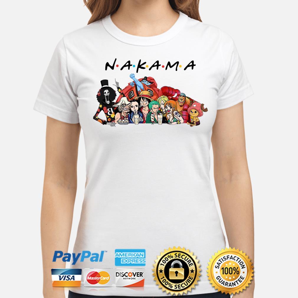 Anime Manga heroes Nakama Friends s ladies-shirt