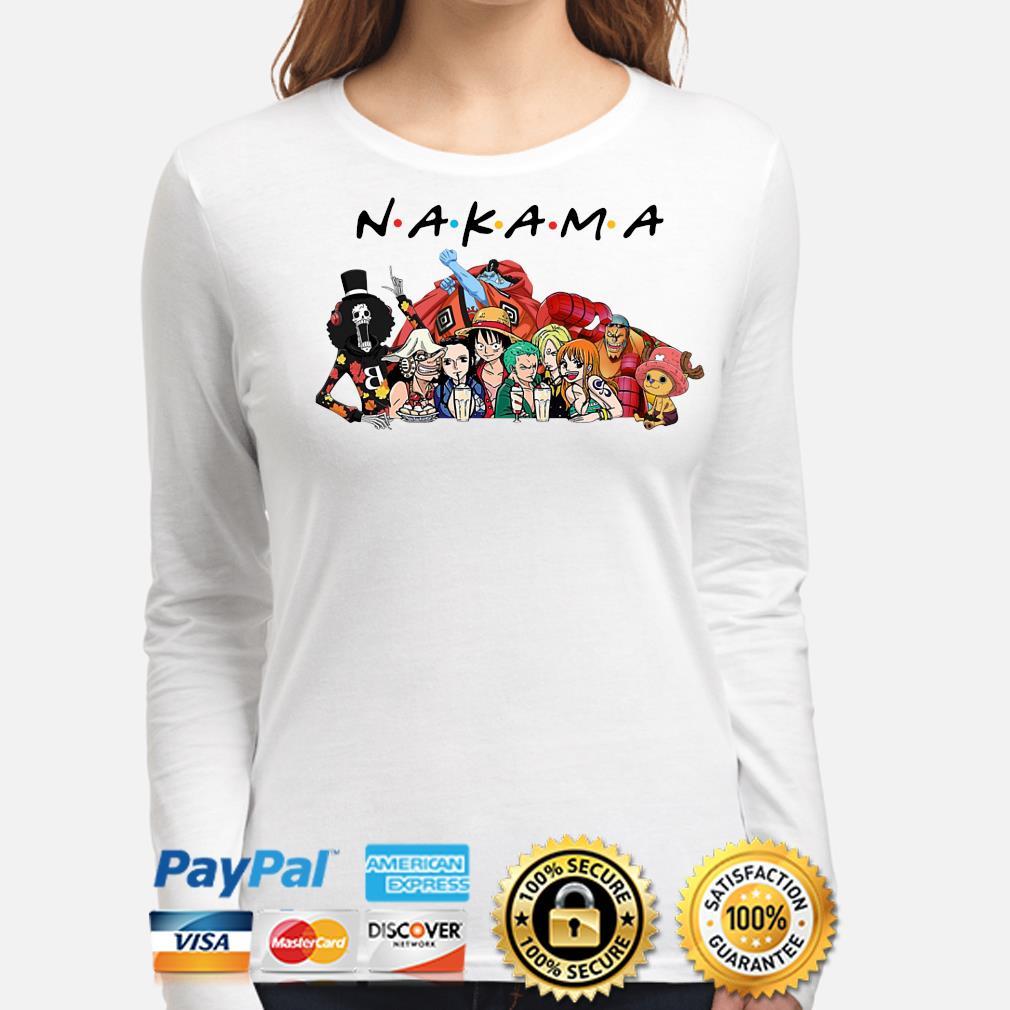 Anime Manga heroes Nakama Friends s long-sleeve