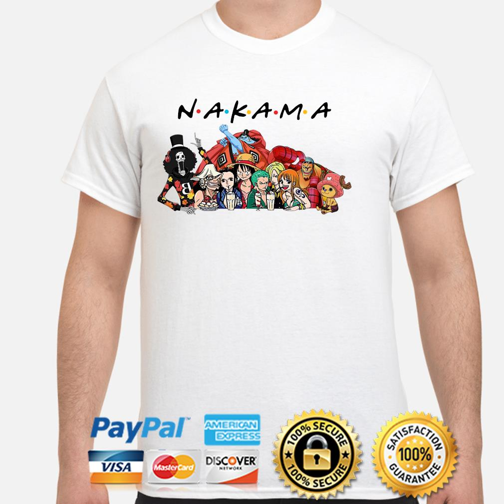 Anime Manga heroes Nakama Friends shirt