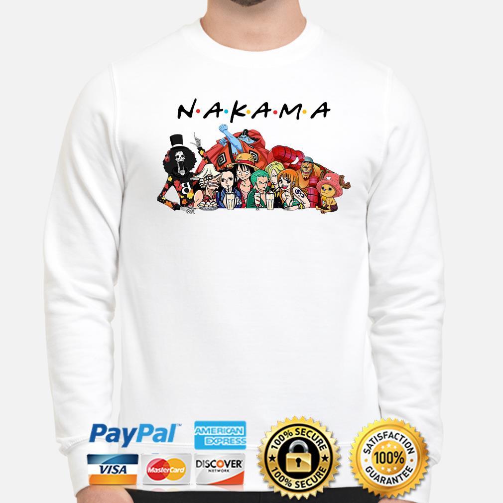 Anime Manga heroes Nakama Friends s sweater