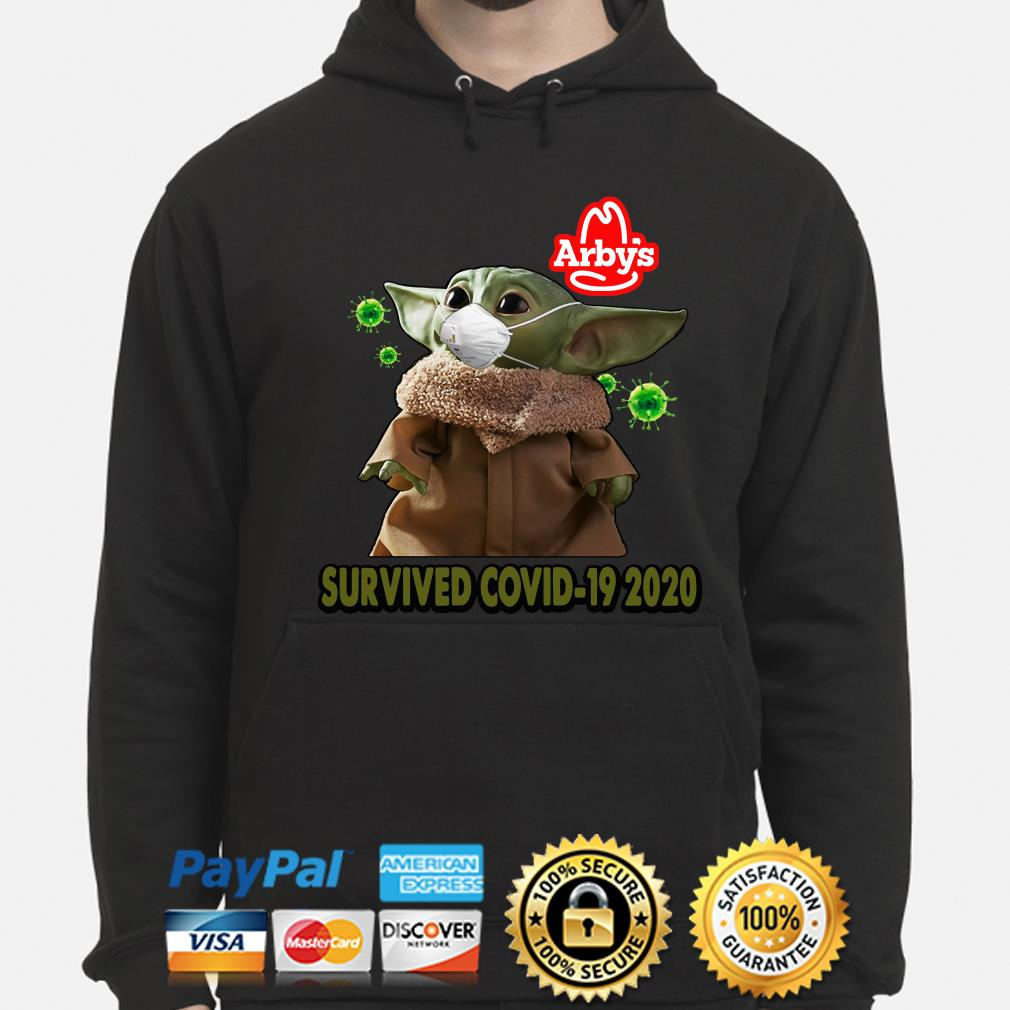Baby Yoda Arby's Survived Covid-29 2020 s hoodie