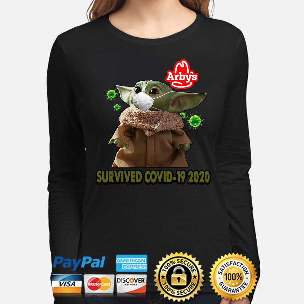 Baby Yoda Arby's Survived Covid-29 2020 s long-sleeve
