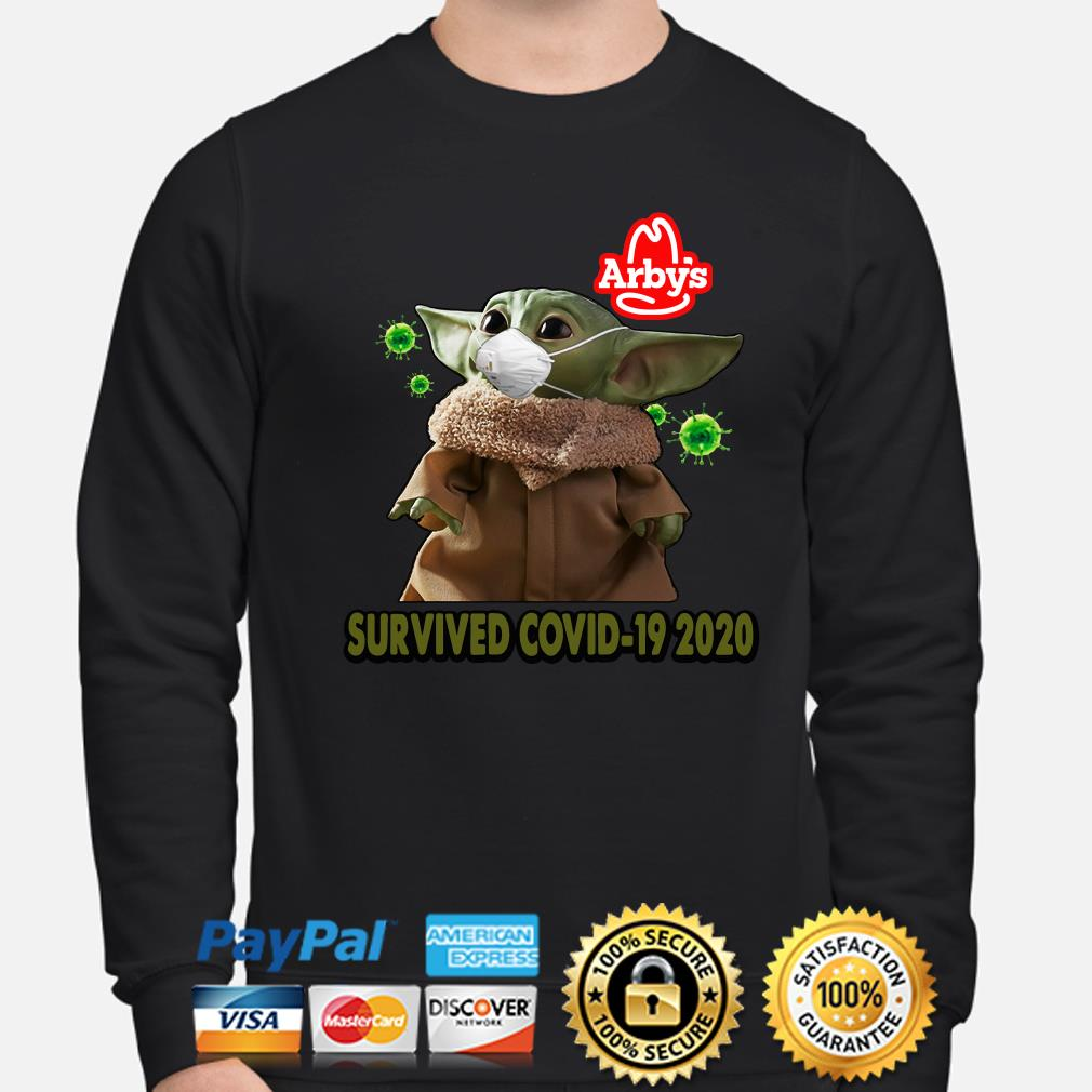 Baby Yoda Arby's Survived Covid-29 2020 s sweater
