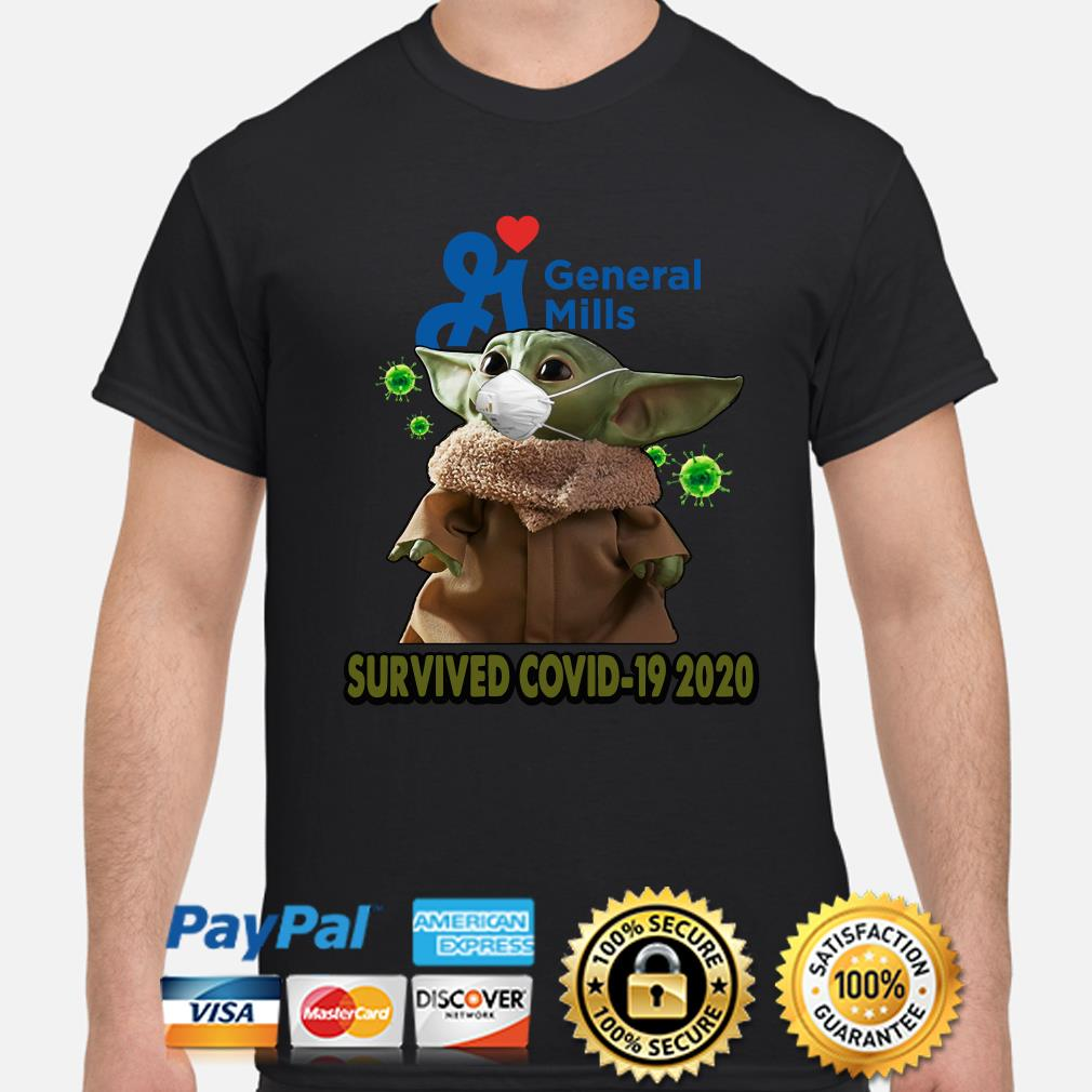 Baby Yoda General Mills Survived Covid-29 2020 shirt