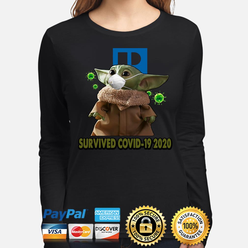 Baby Yoda Realtors Survived Covid-19 2020 s long-sleeve