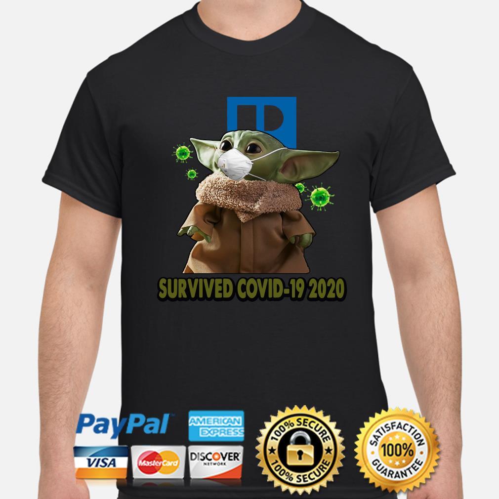 Baby Yoda Realtors Survived Covid-19 2020 shirt