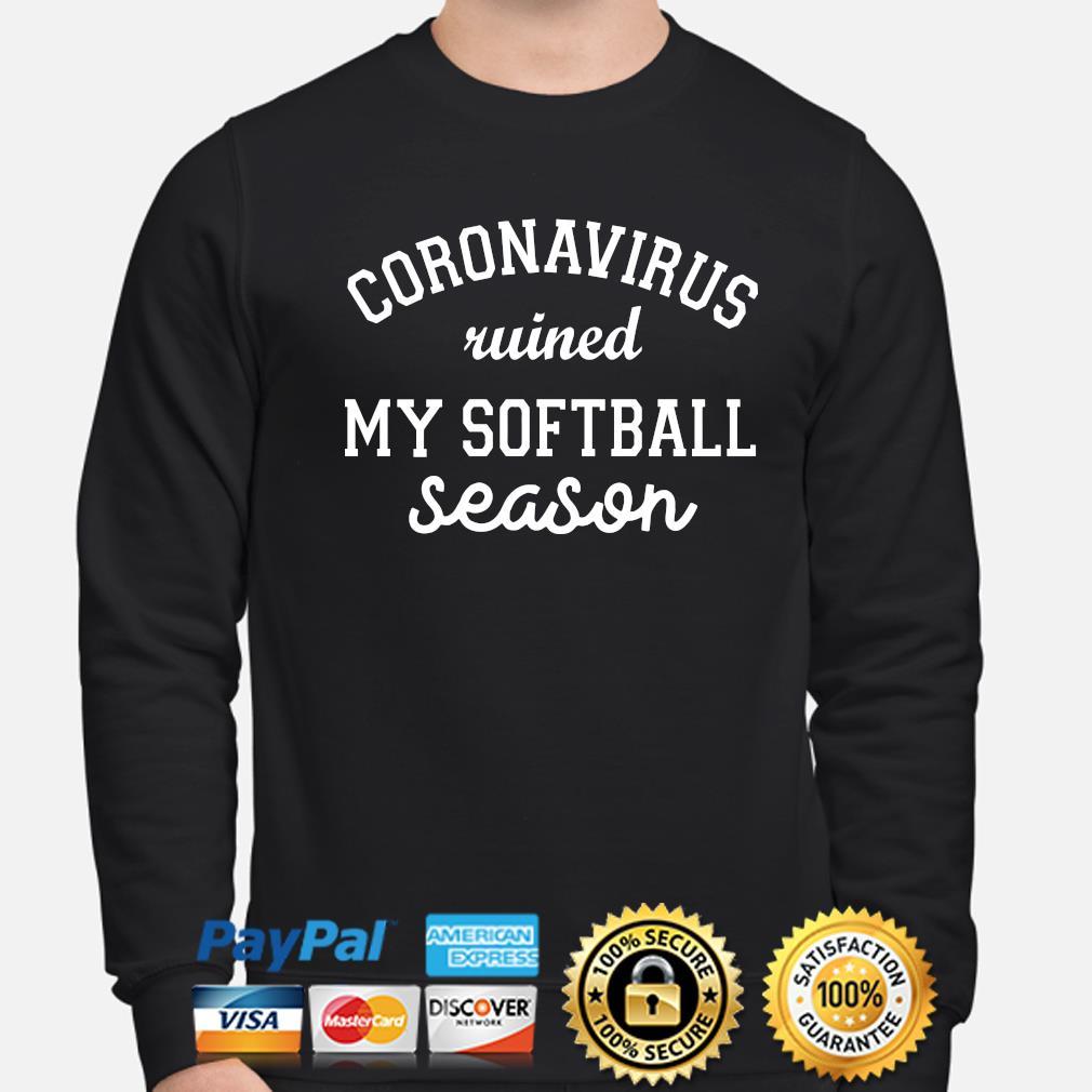 Coronavirus wined my softball season s sweater