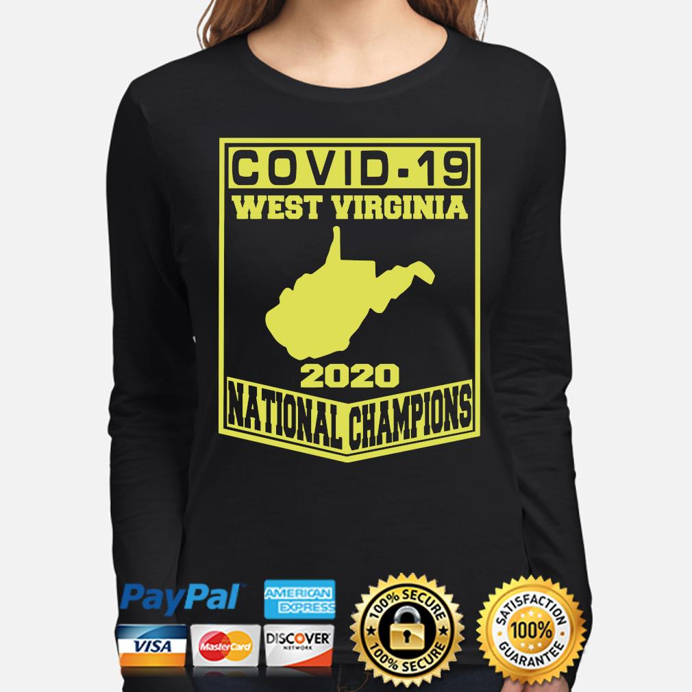 Covid-19 West Virginia 2020 National Champions s long-sleeve