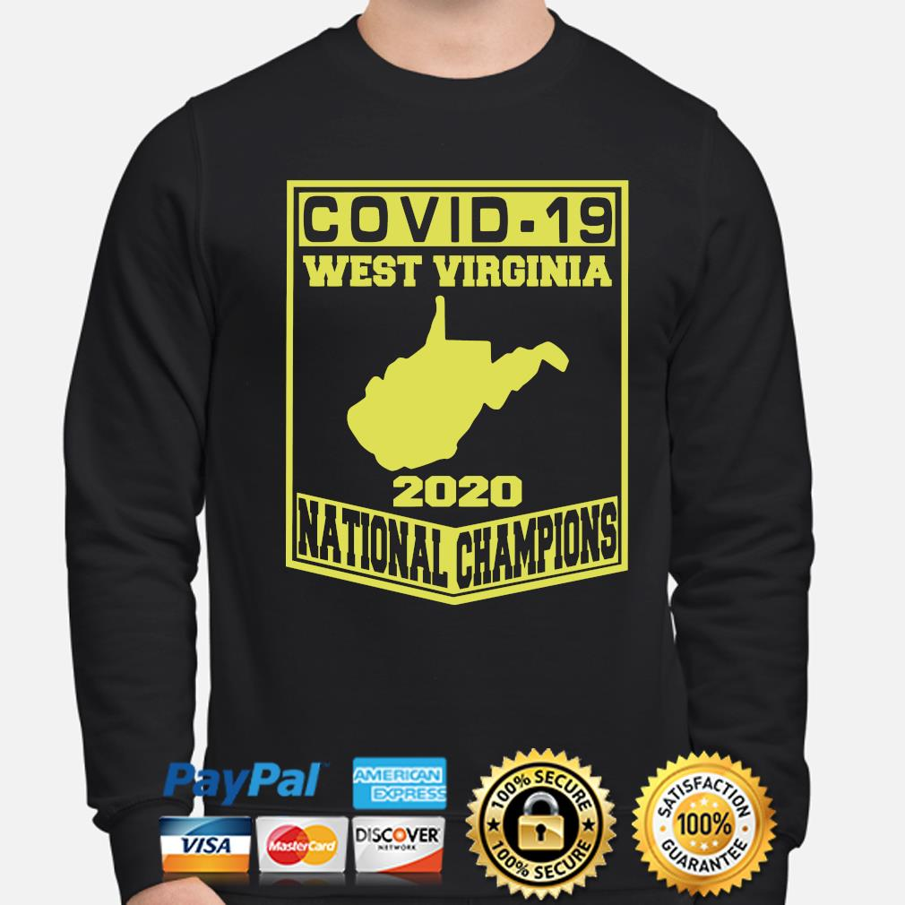 Covid-19 West Virginia 2020 National Champions s sweater
