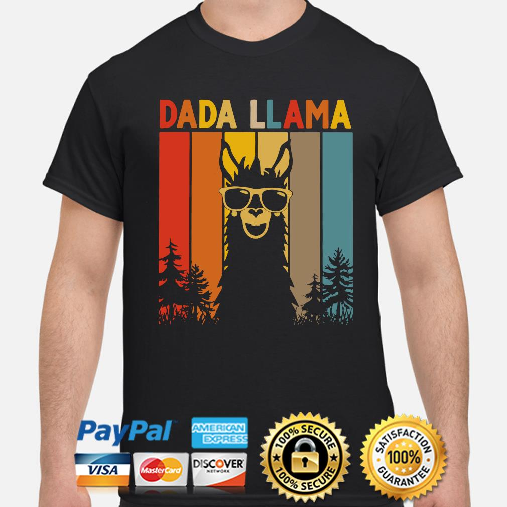 Dada LLama Vintage shirt