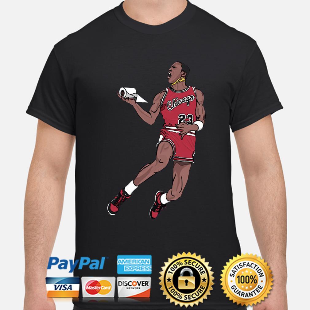 Goat Chicago Bulls toilet paper shirt