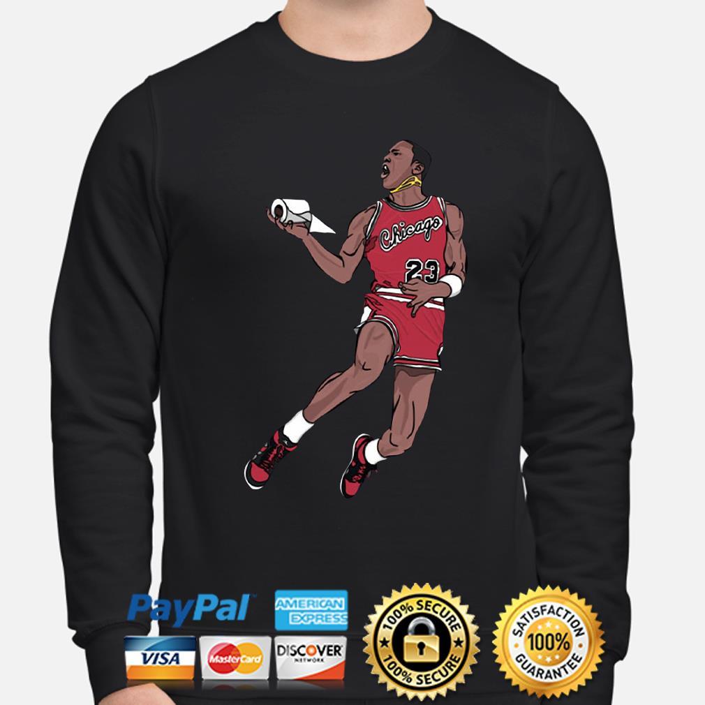 Goat Chicago Bulls toilet paper s sweater