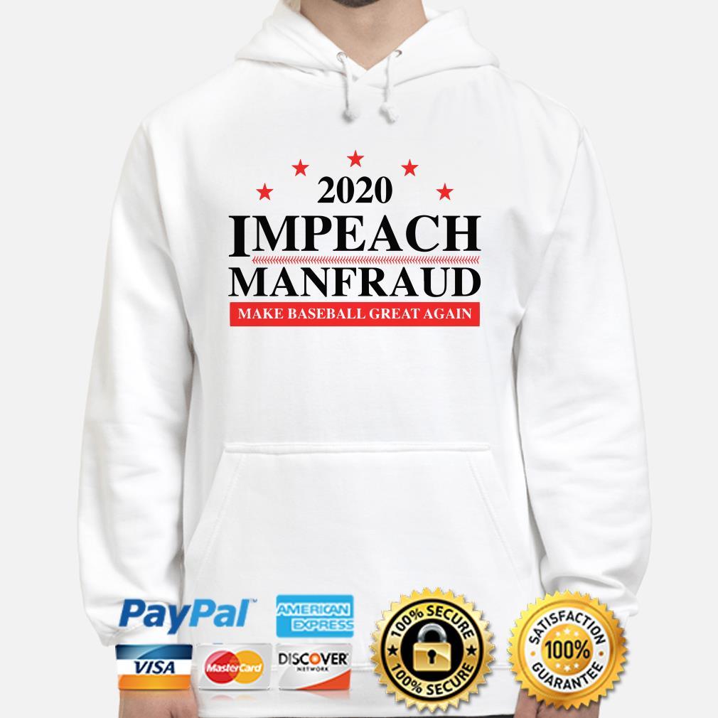 2020 Impeach make baseball great again Hoodie