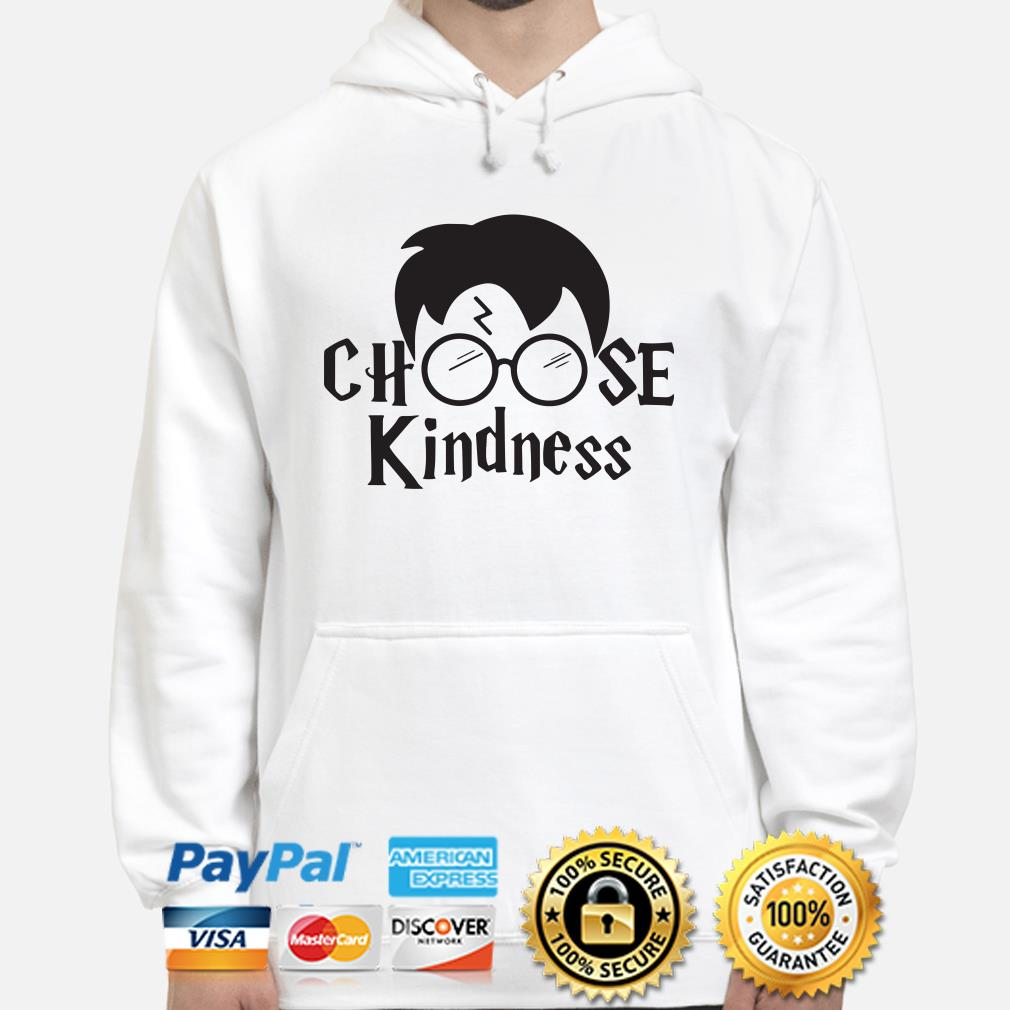 Harry Potter Choose kindness Hoodie