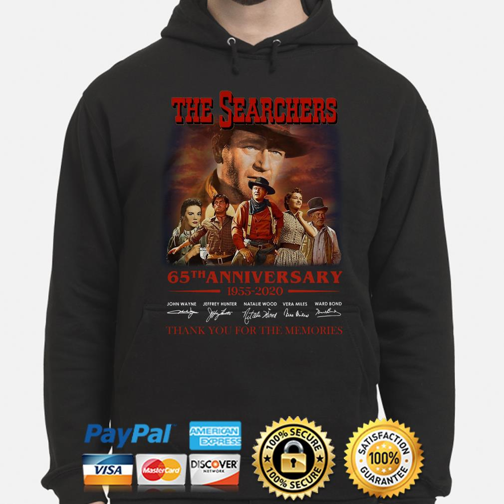 The Searchers 65th anniversary thank you for the memories signature Hoodie