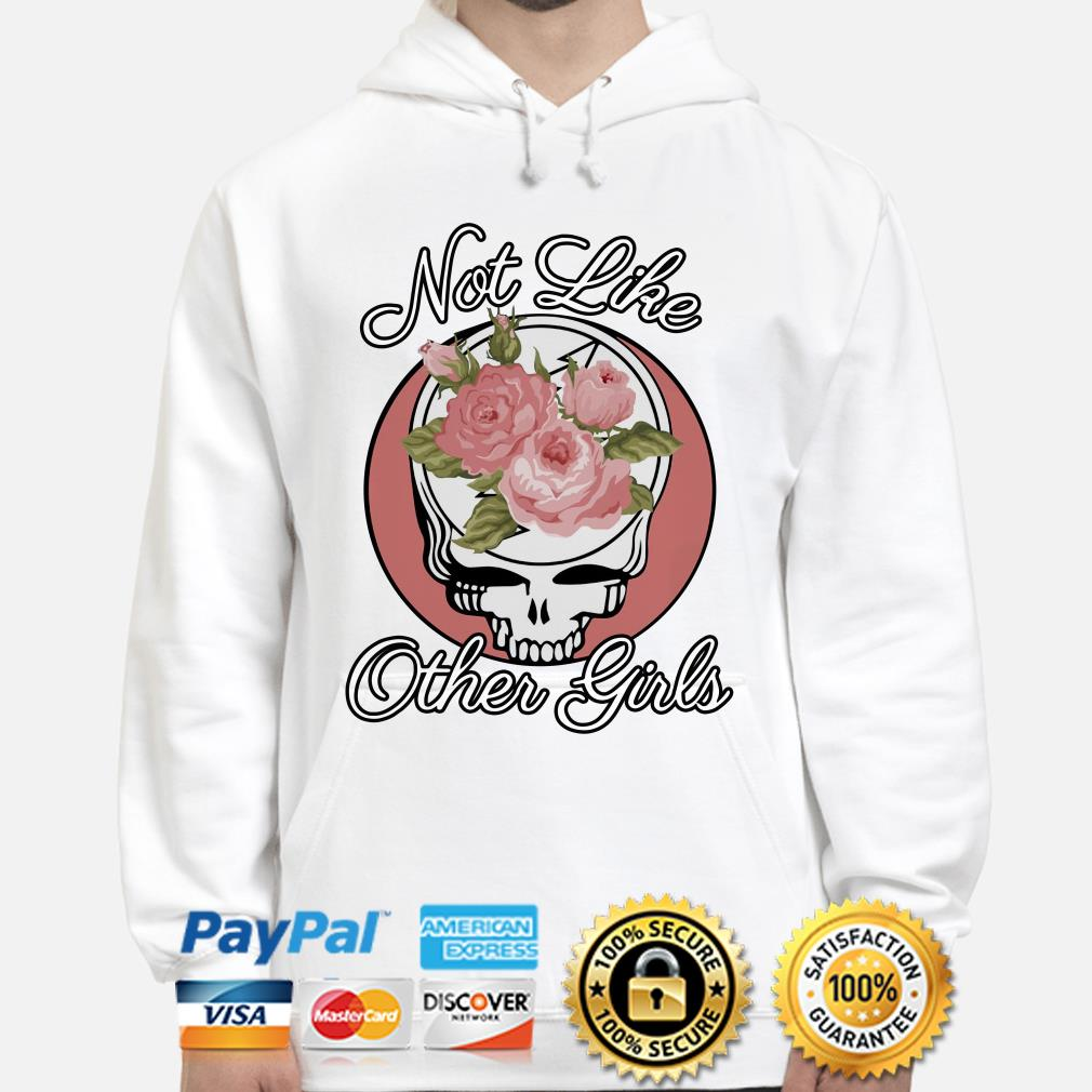 Grateful Dead Roses not like other girl Hoodie