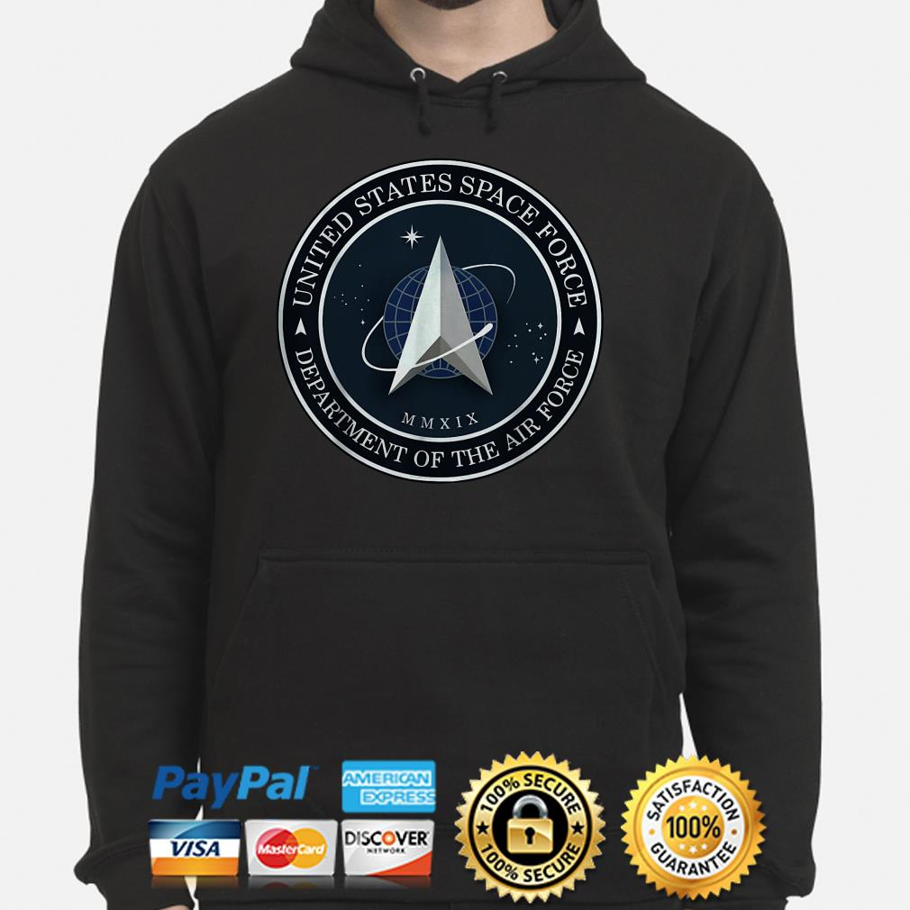 United States Space Force Department of the Air Force Hoodie