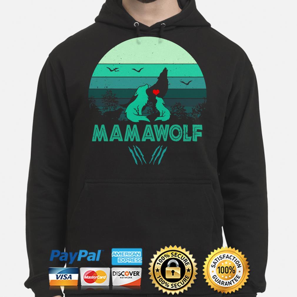 Mamawolf Vintage Hoodie
