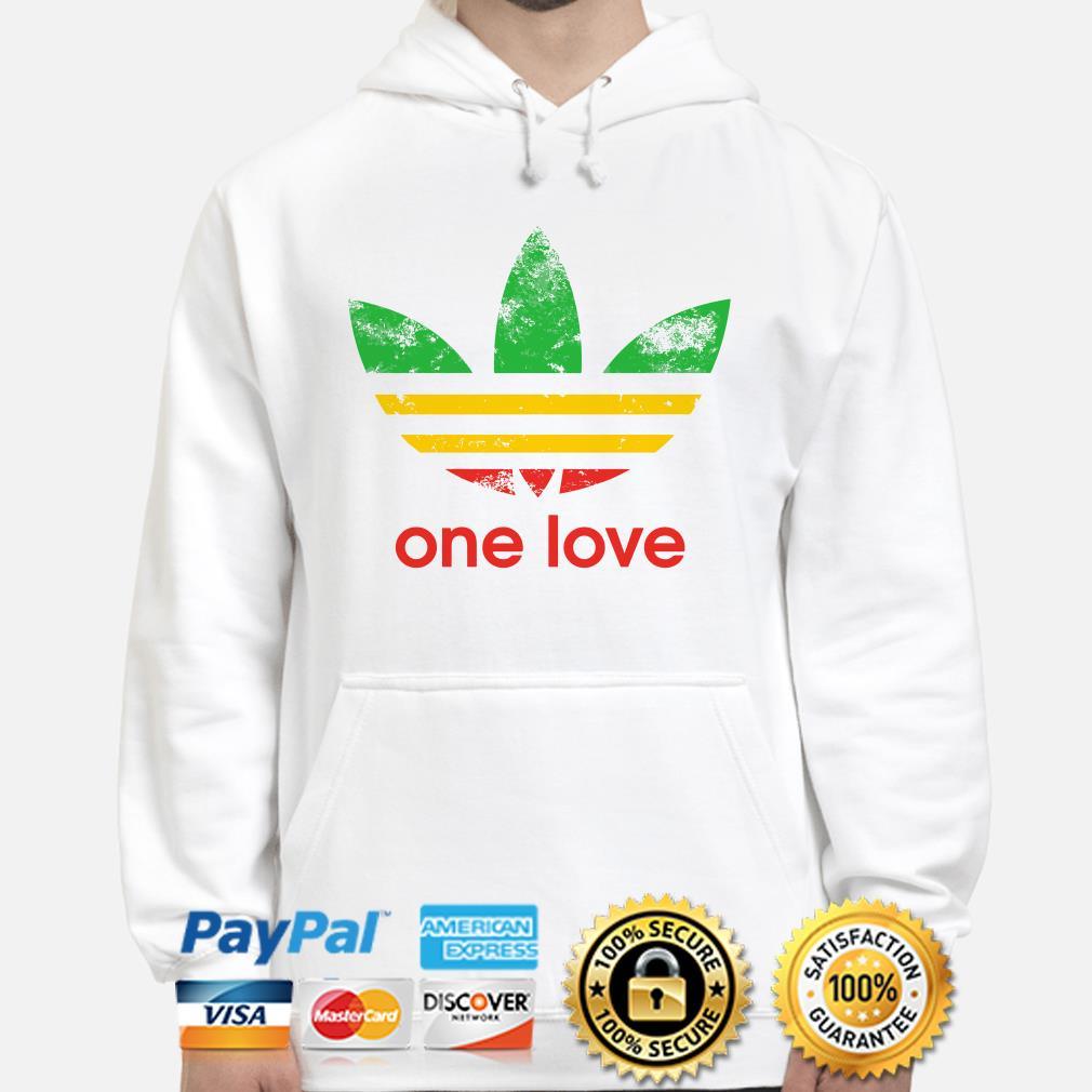 Adidas One love flag Hoodie