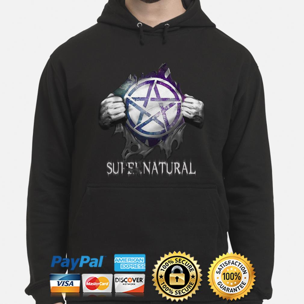 Supernatural Blood inside me Hoodie