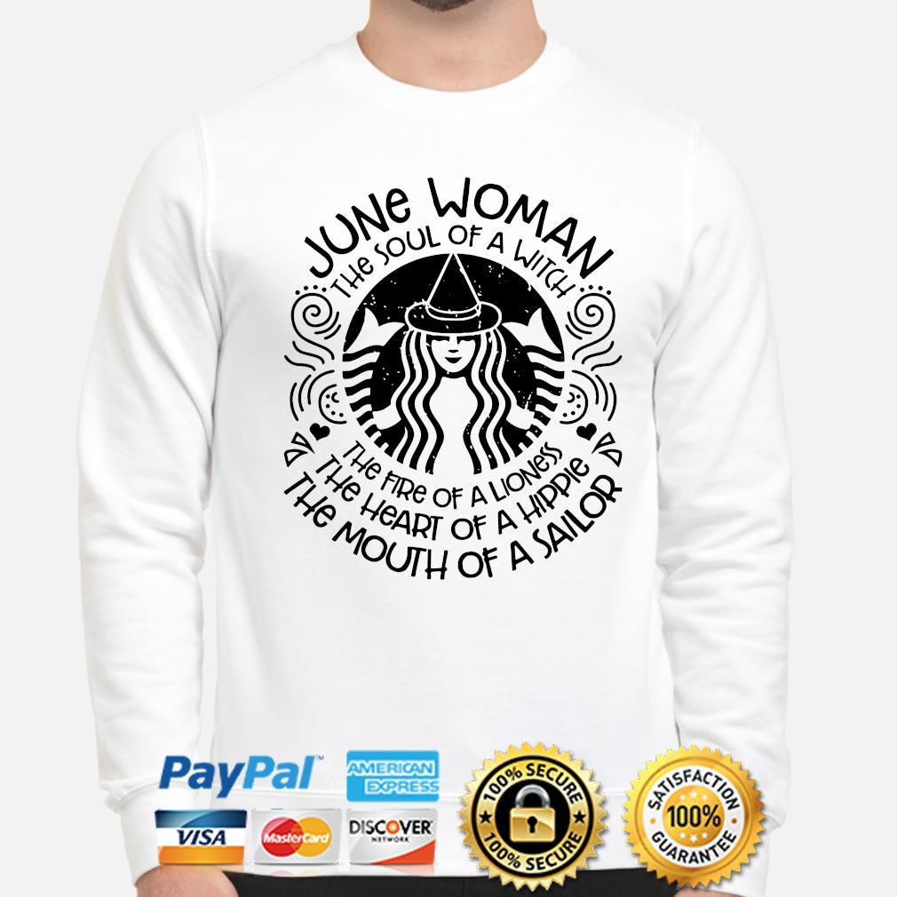 June woman the soul of a witch the mouth of a sailor s sweater
