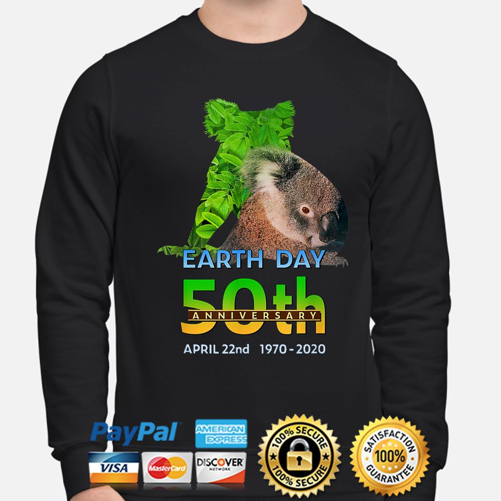 Koala bear earth day 50th anniversary April 22th 2020 s sweater
