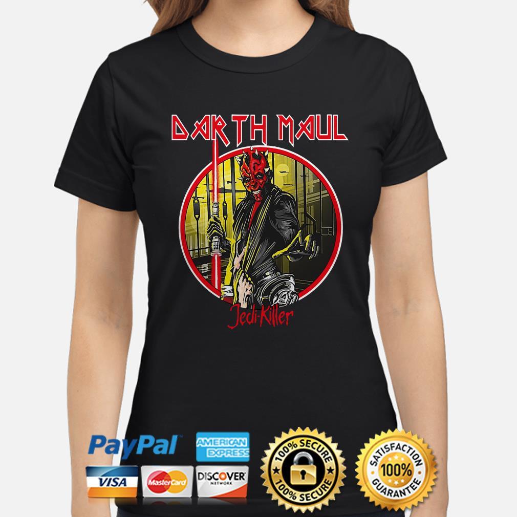 Iron Maiden Darth Maul Jedi Killer Ladies Shirt