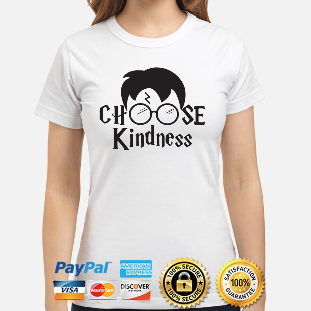 Harry Potter Choose kindness Ladies shirt